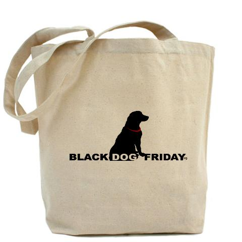 black_dog_friday_tote_bag